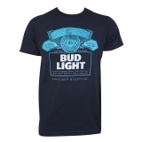 Bud Light Navy Blue T-Shirt